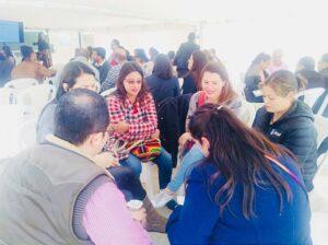 Padres aprendiendo en el Gimnasio Campestre Los Laureles Bilingüe