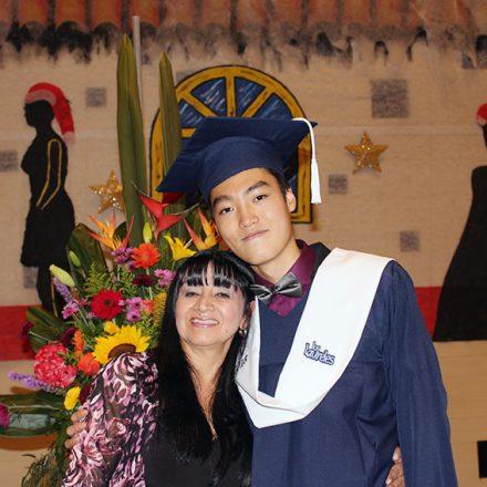 ¡Seong Chan Lee, nuestro primer egresado extranjero!